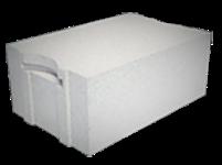 стеновой газобетонный пазогребневый блок с захватом