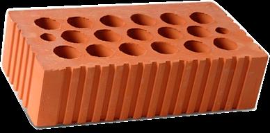 Кирпич Одинарный М150 Каширский рифленый