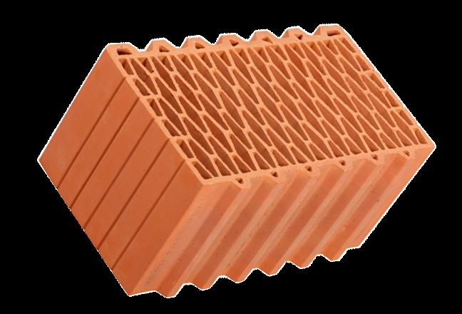 Крупноформатный керамический блок Porotherm 44