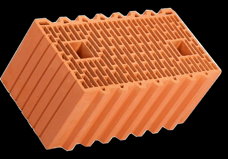 Крупноформатный керамический блок Porotherm  51