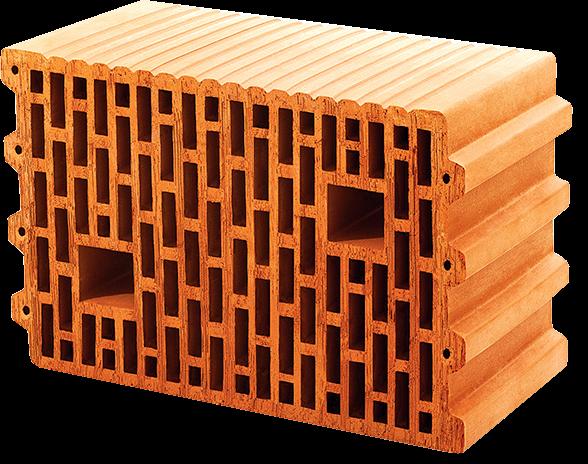 Крупноформатный керамический блок Термоблок 25